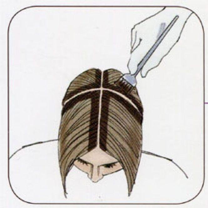 Как правильно красить самой волосы
